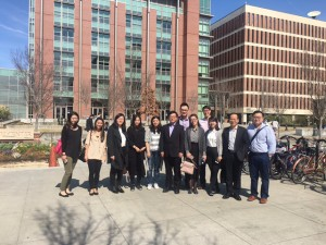 Prof. An Yen and Prof. Youwen Zhou with all participating dermatology resident in MUSC hospital campus